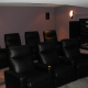 Basement Home Theater in Oaks, Pa