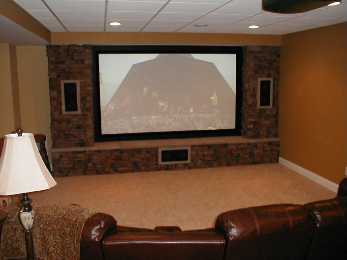 Brick Home Theater and Audio System