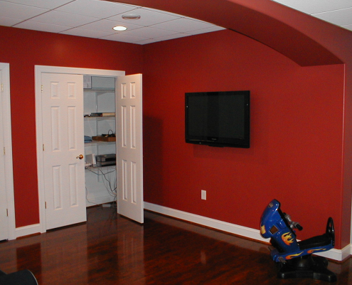 Wall Intall Flat Screen TV