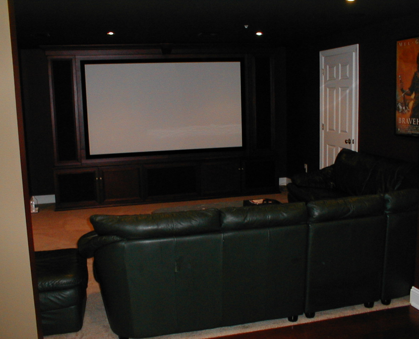 Wayne, Pa Home Theater Installation