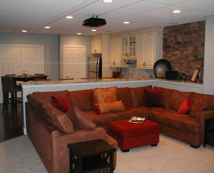Home movie theater room and basement bar audio video for Basement theater room